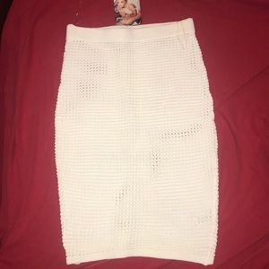 Naked Wardrobe Knit Skirt